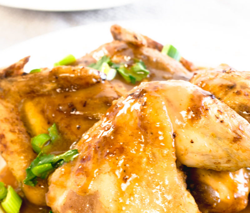 Chinese Curry Roasted Chicken