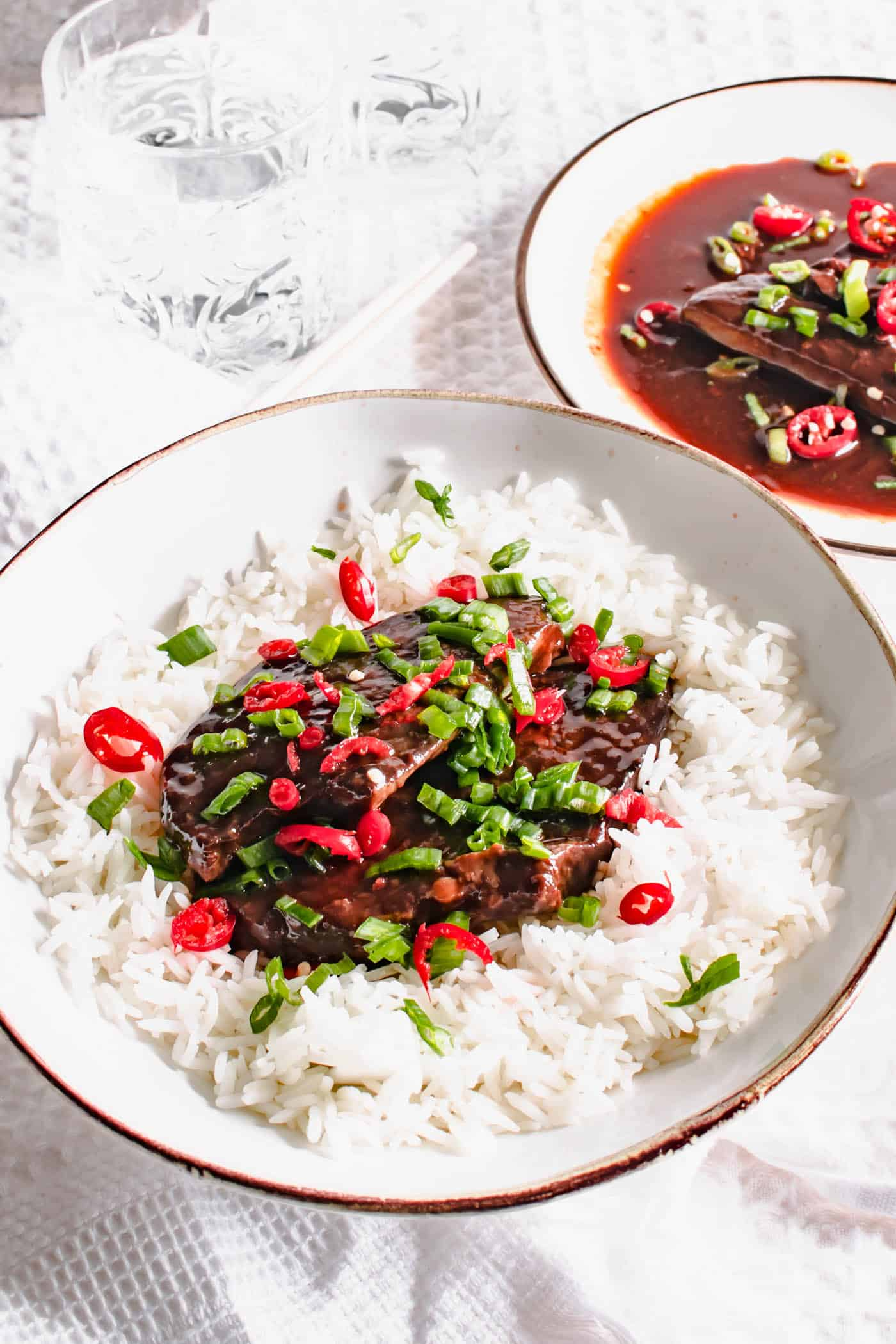 Slow Cooker Hoisin Steak Recipe