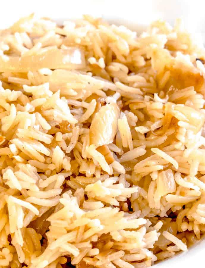 Caramelized Onion Rice