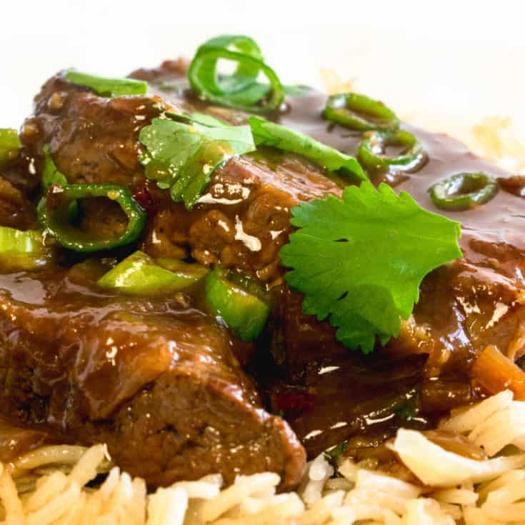 Slow Cooker Sticky Hoisin Beef