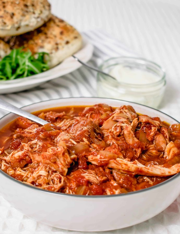 Slow Cooker Paprika Tomato Chicken