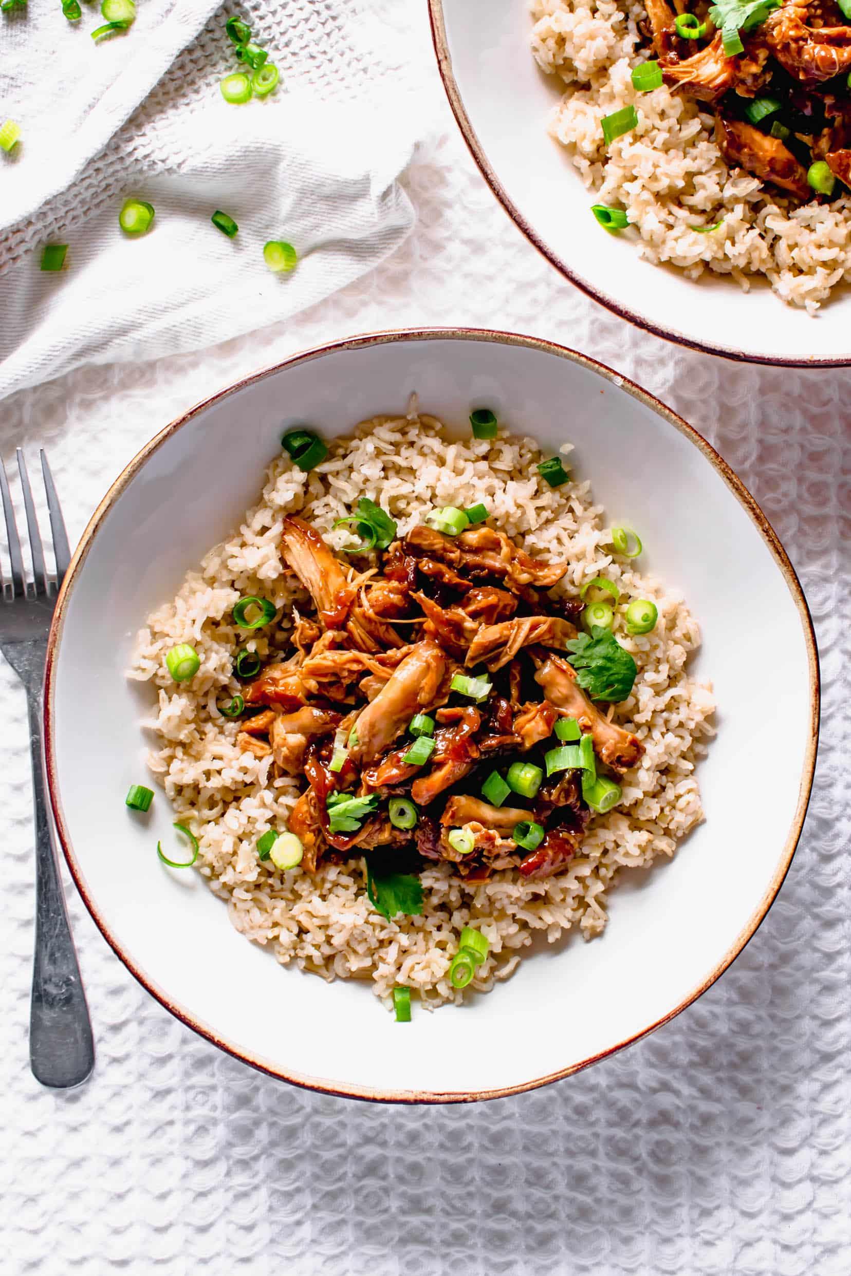 Slow cooker Teryaki Chicken Recipe | Hint of Helen