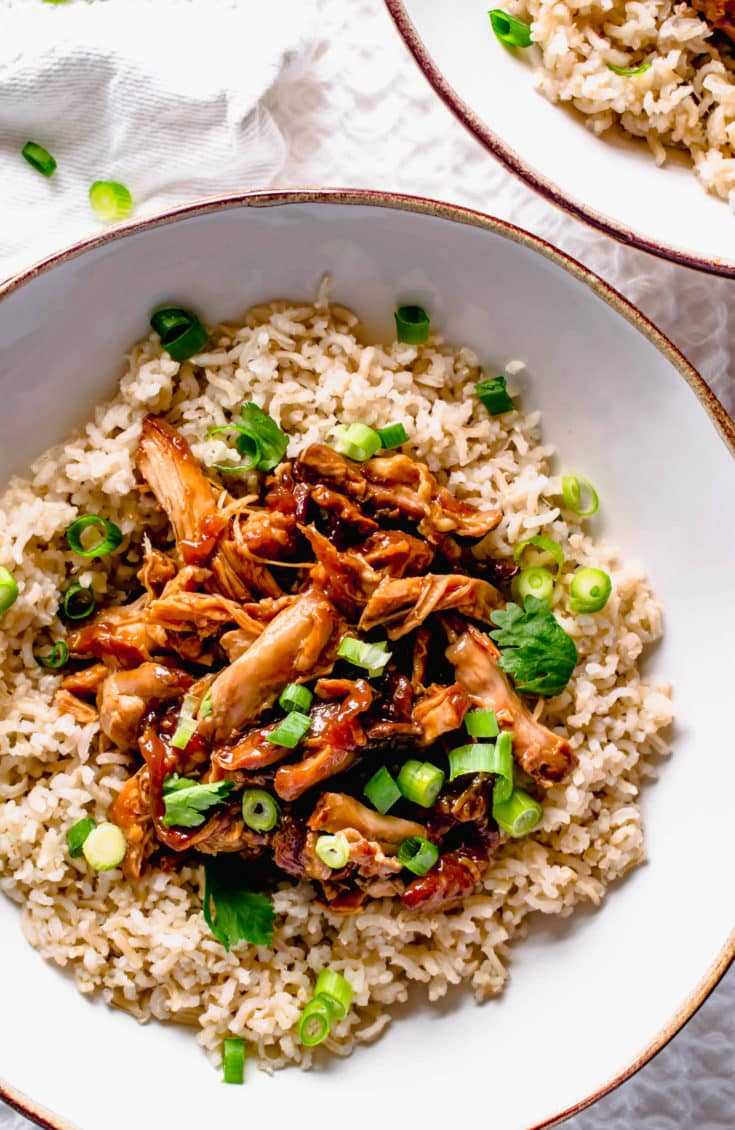 Slow Cooker Sticky Teriyaki Chicken