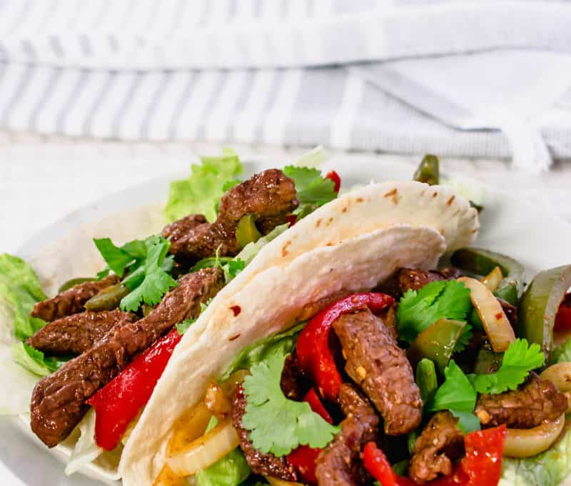 Actifry Steak Fajitas