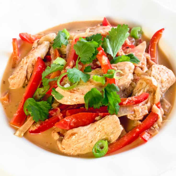 Quick Red Thai Curry