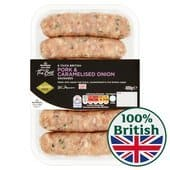 Morrisons Caramelised Onion Sausages