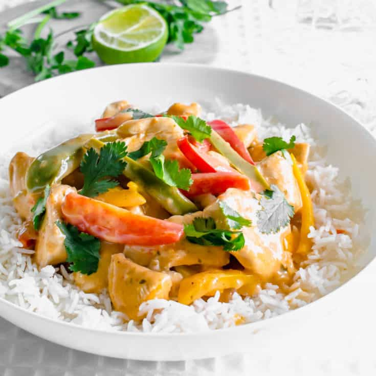 Low FODMAP Thai Red Curry