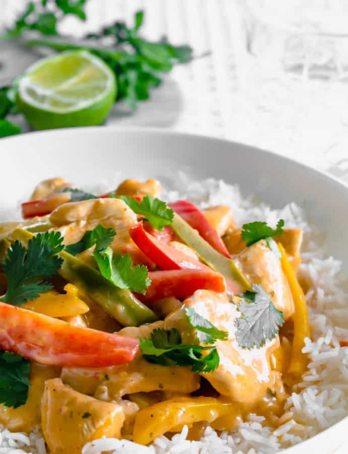Low FODMAP Fragrant Curry