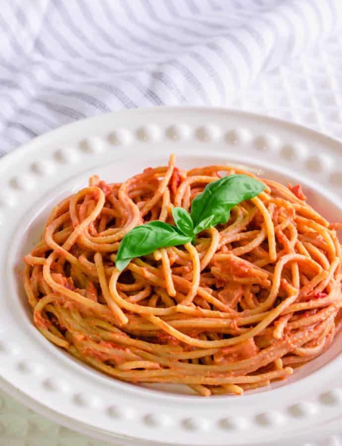 Creamy Tomato & Quark Spaghetti (Syn Free)