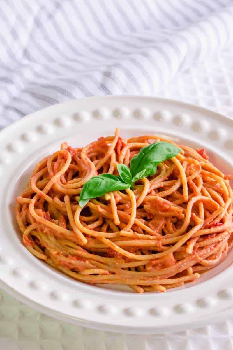 Syn Free Pasta Tomato Quark Pasta