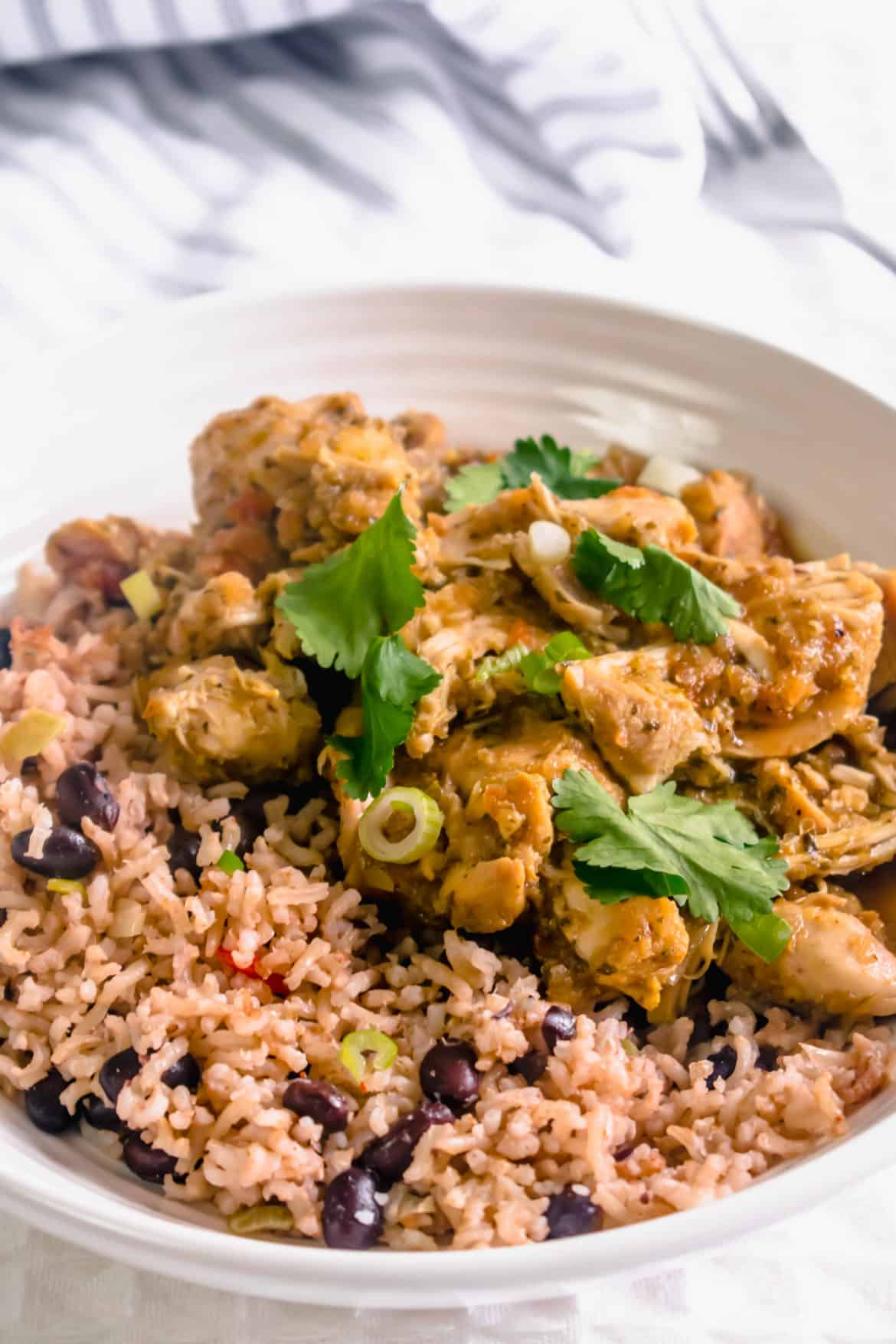 Slow Cooker Caribbean Chicken Curry