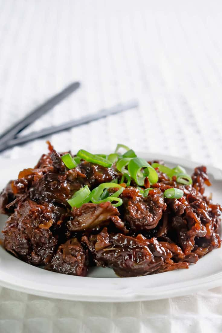 Slow Cooker Chinese Chilli Beef