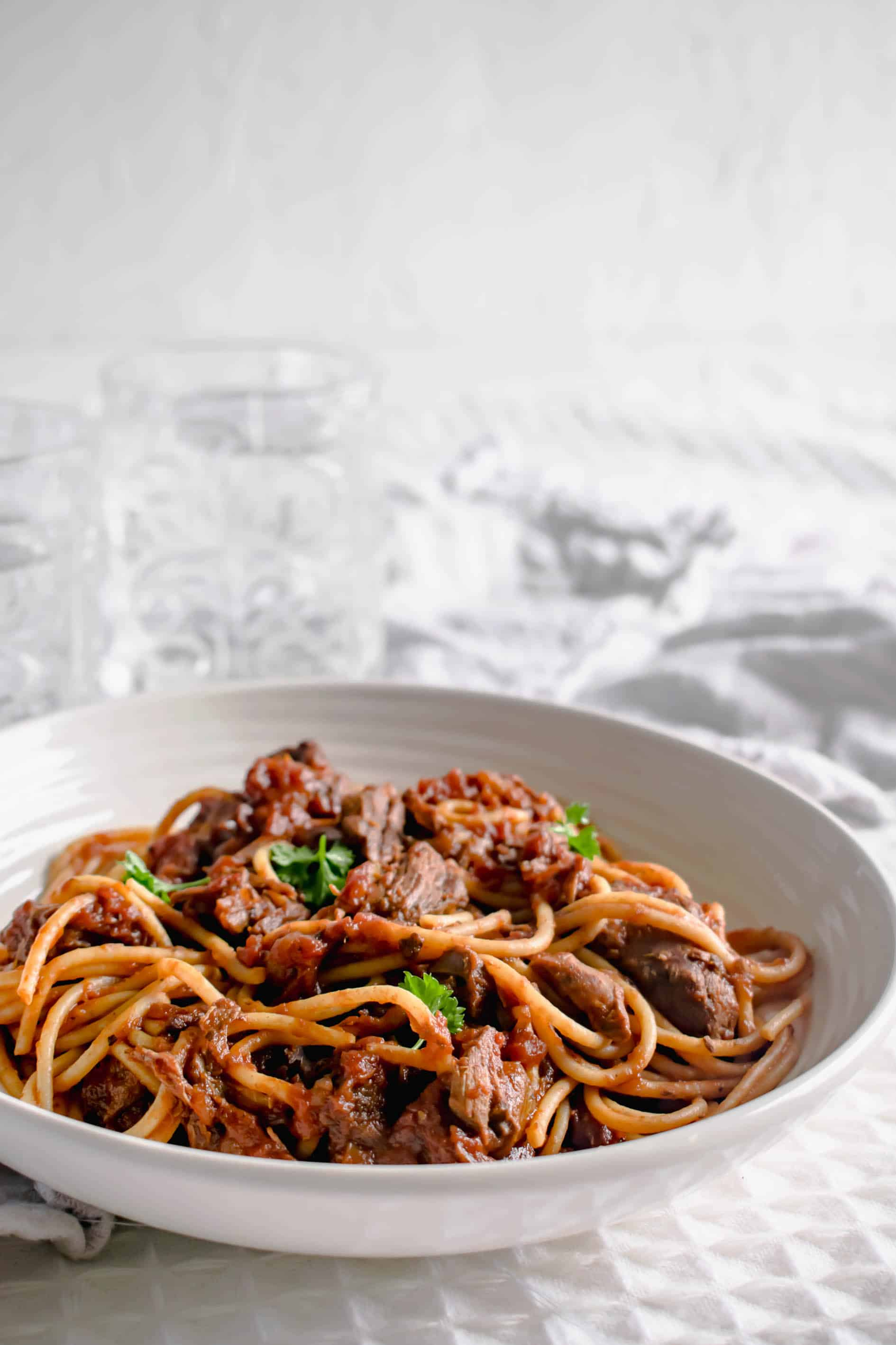 Slow Cooker Spaghetti Bolognese Recipe