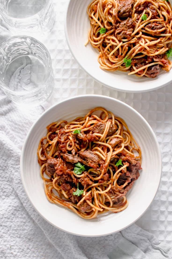 Slow Cooker Spaghetti Bolognese Recipe