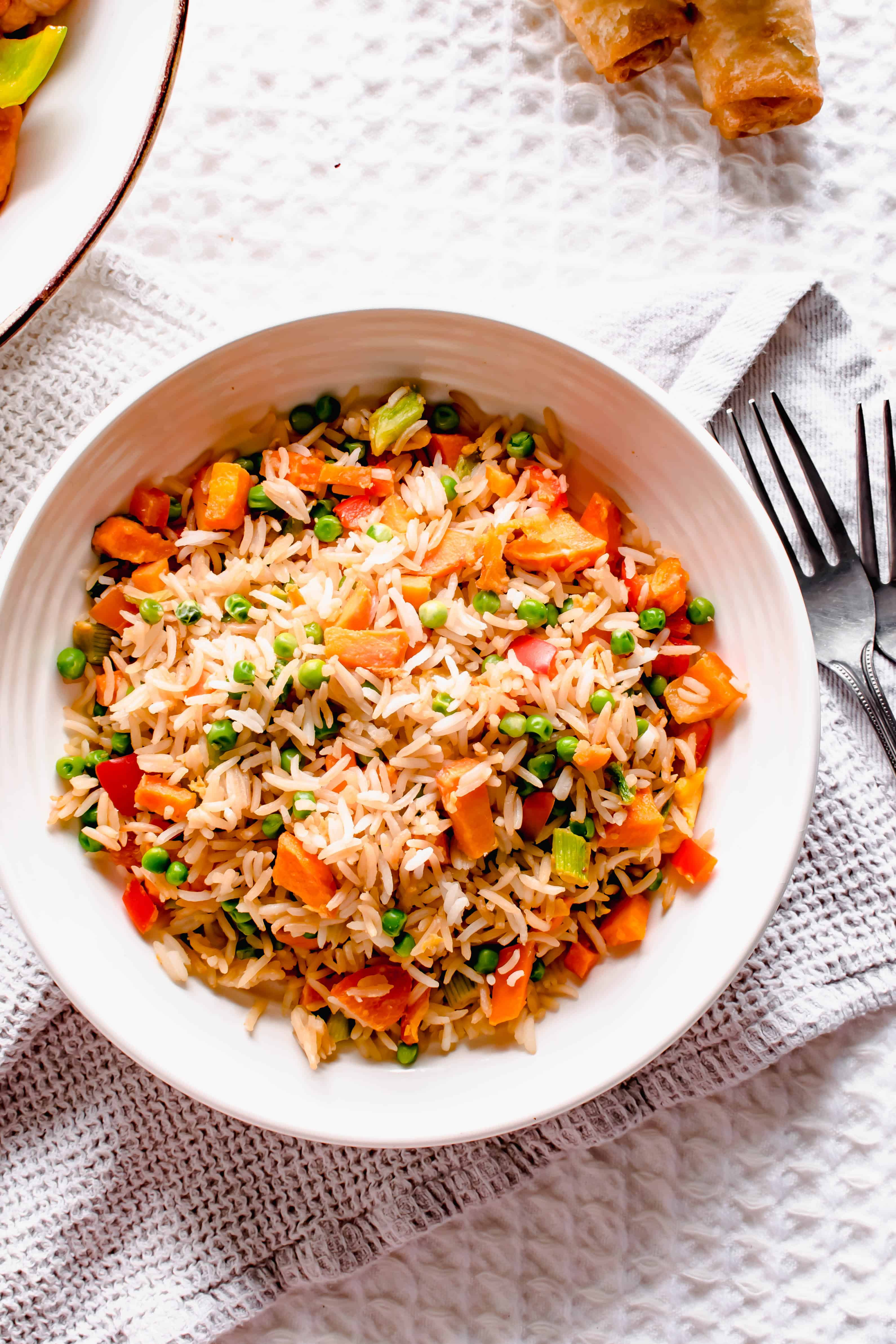Actifry Egg Fried Rice Recipe