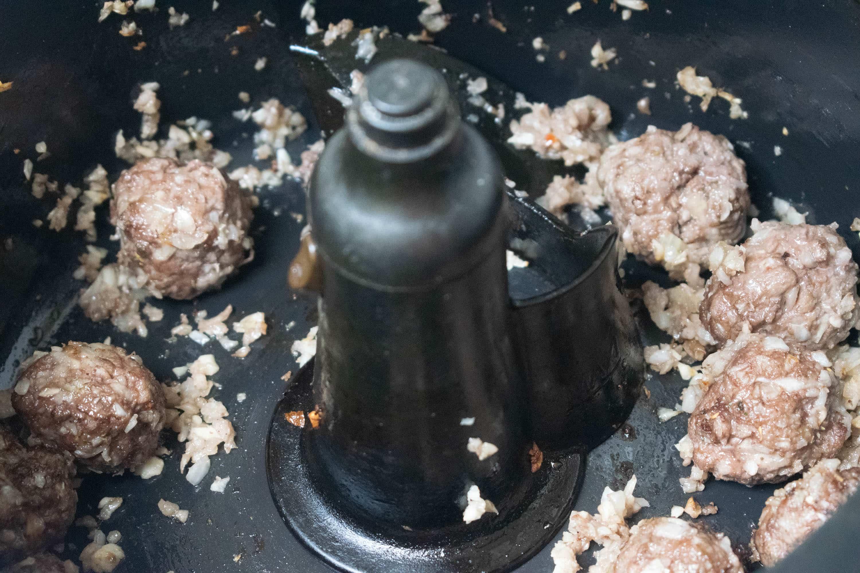 Actifry Meatballs Recipe   Hint of Helen