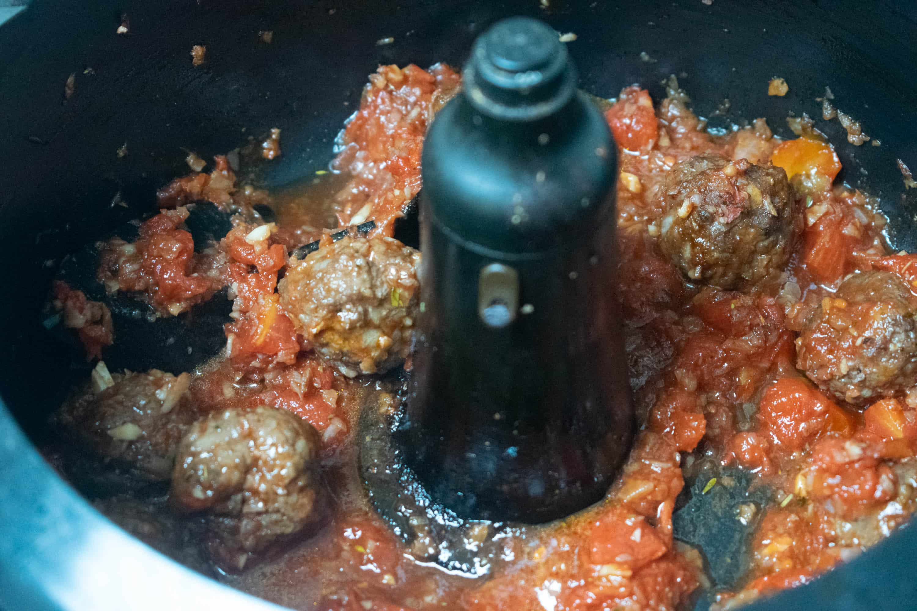 Actifry Meatballs Recipe | Hint of Helen