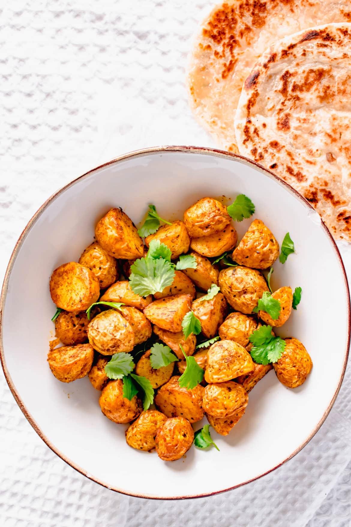 Actifry Indian Potatoes Recipe | Hint of Helen-2