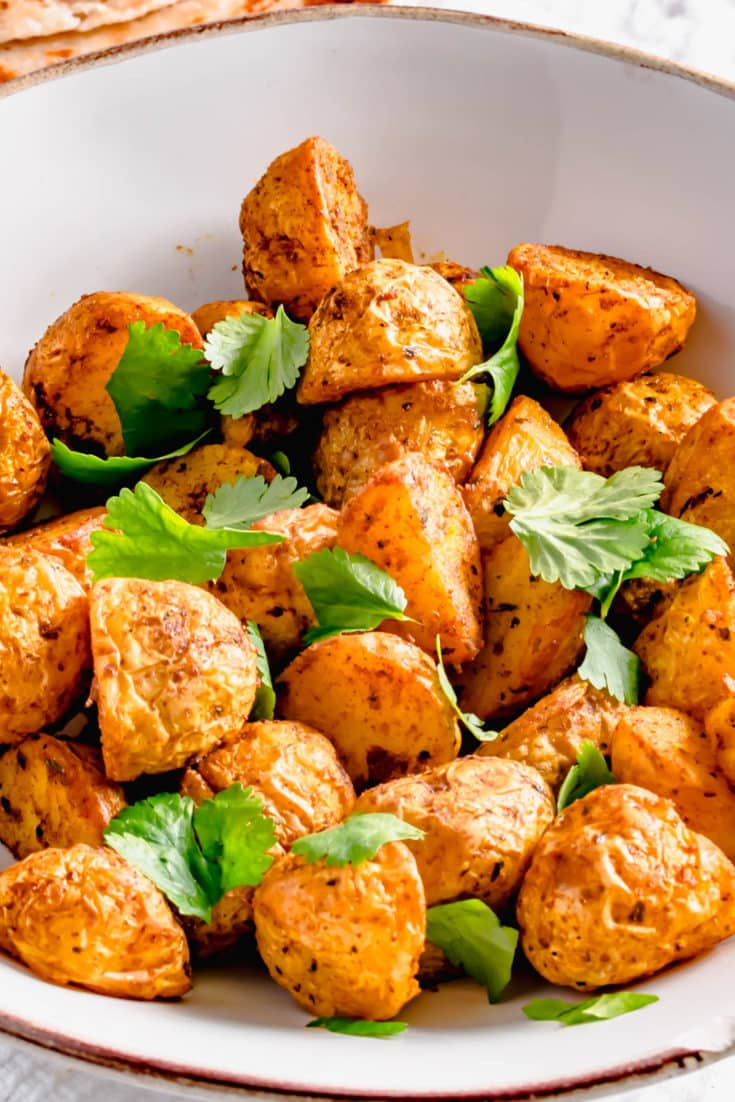Actifry Indian Potatoes
