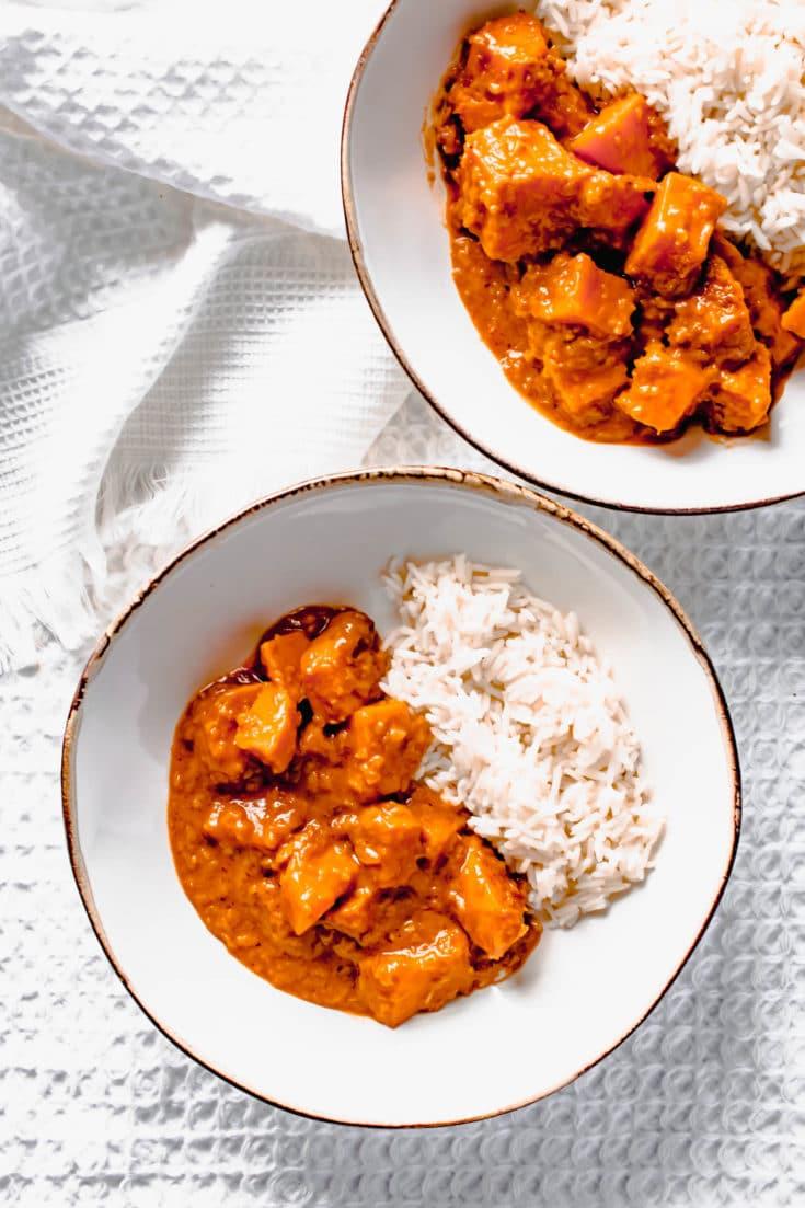 Sweet Potato Korean Curry