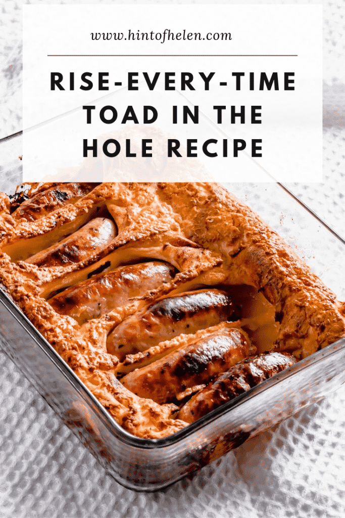 Toad In The Hole Pinterest Pin