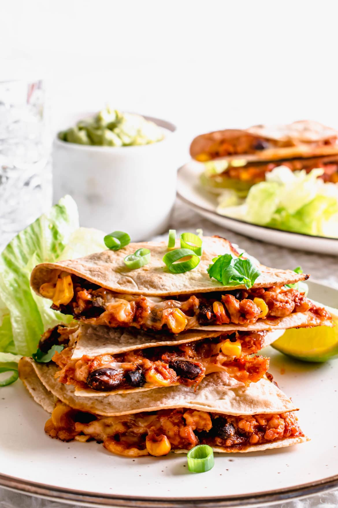 Healthy Turkey Quesadillas Recipe