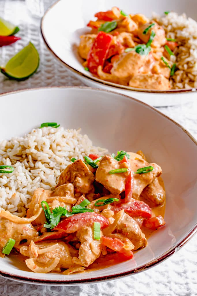 Actifry Thai Red Curry Recipe