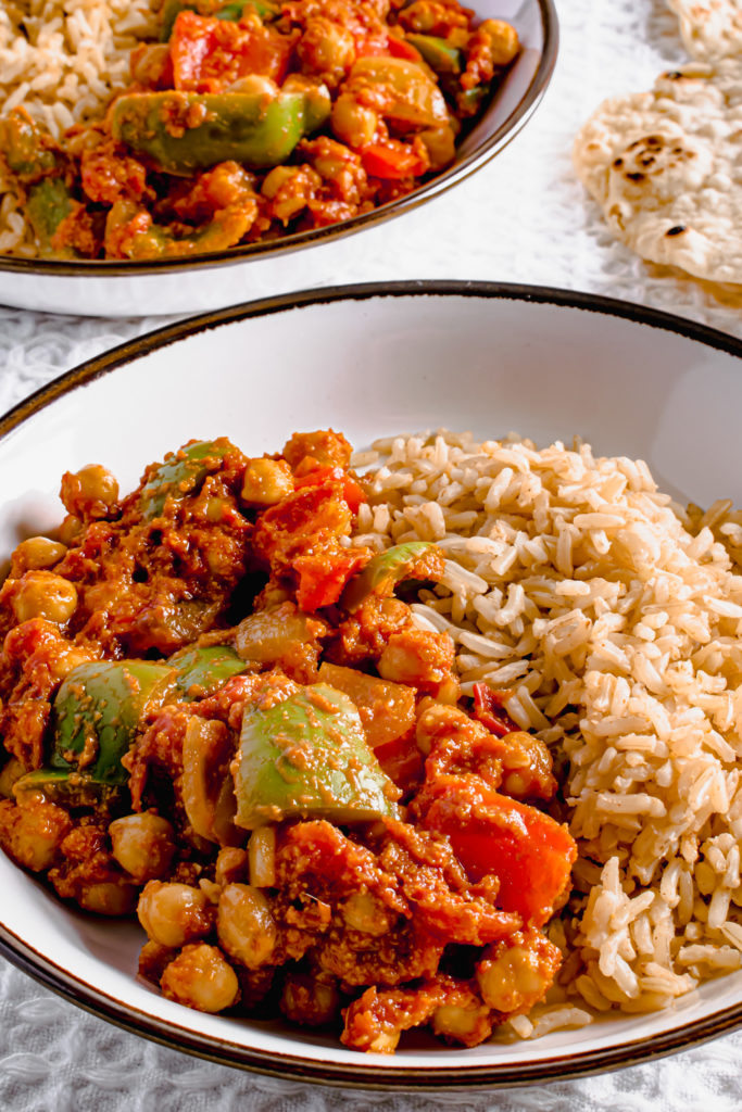 Vegan Chickpea Balti Curry