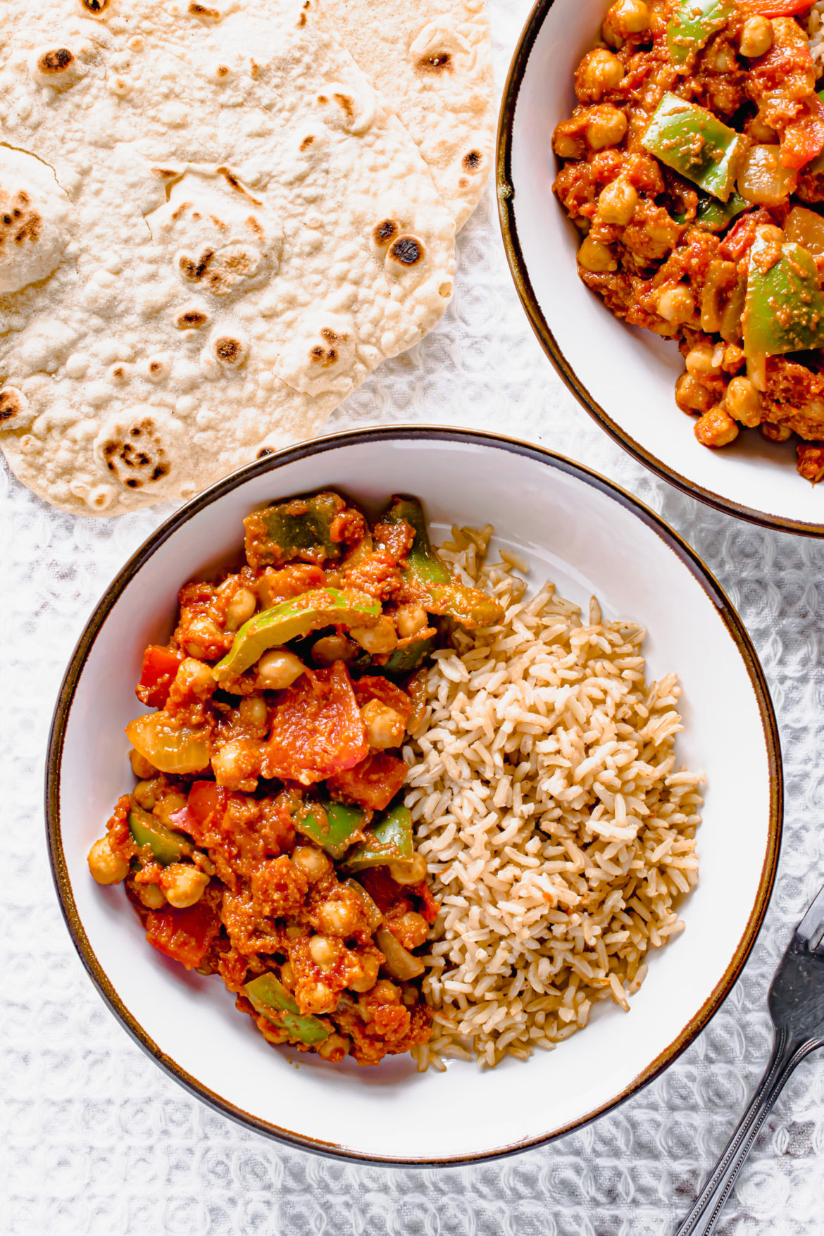vegan chickpea balti Recipe