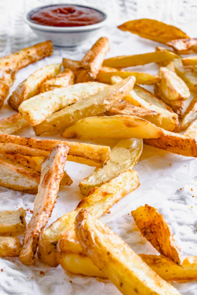 homemade skin on fries recipe