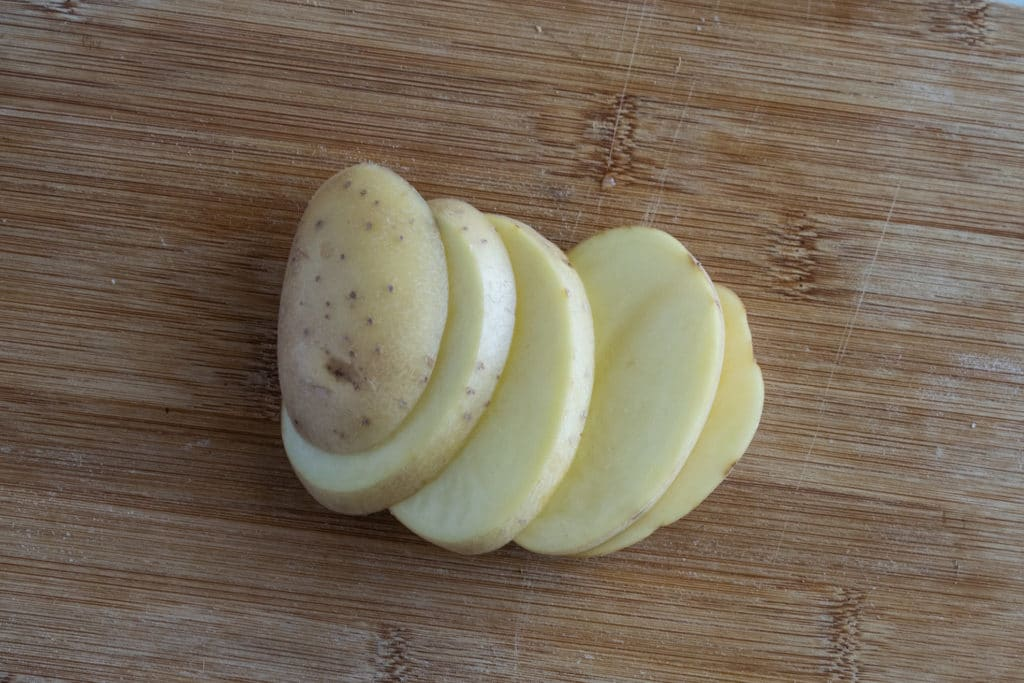Potato Sliced