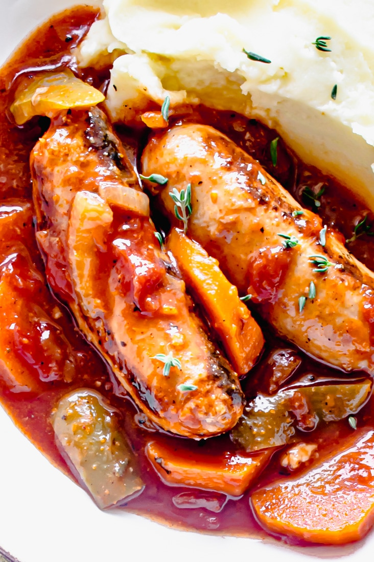 Slow Cooker Sausage Casserole Recipe