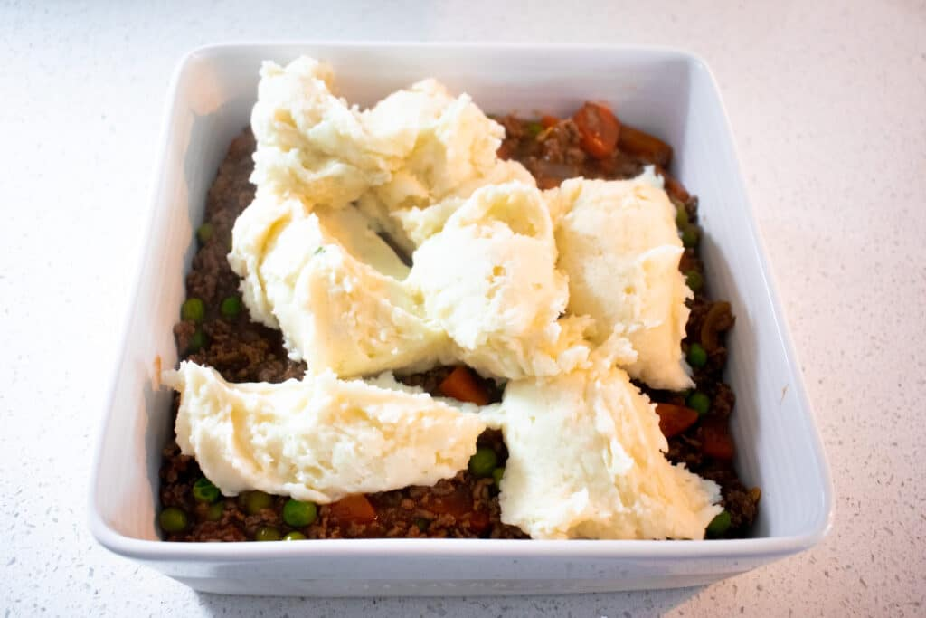 cottage pie mashed potatoes