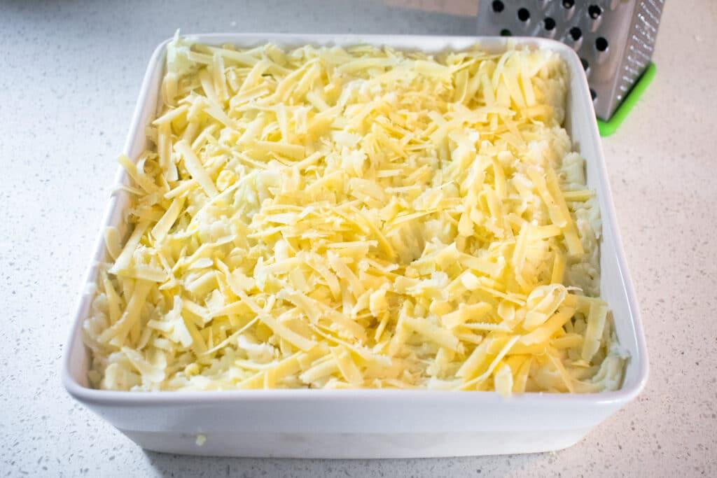 cottage pie cheese