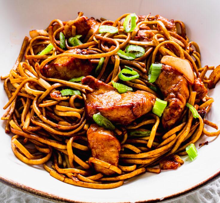 Actifry Chicken Chow Mein
