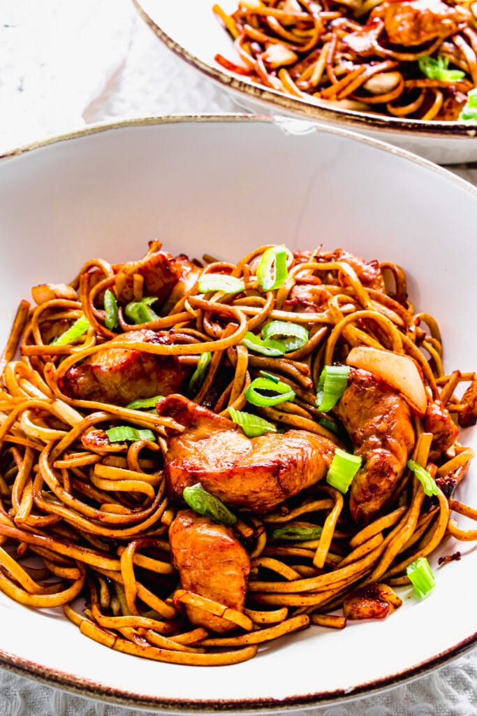 Actifry Chicken Chow Mein Recipe