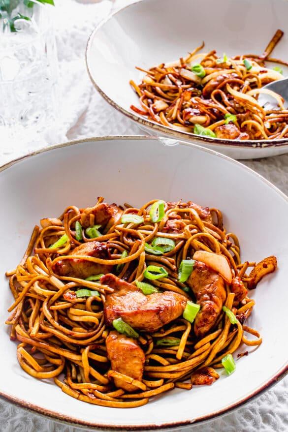 Actifry Chicken Chow Mein Recipe